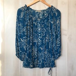 Teal Lucky Brand top